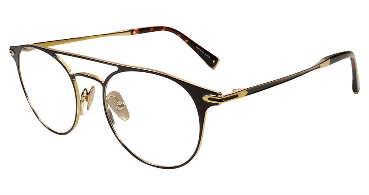 Eyeglasses John Varvatos V 169 Black Gold Black/Gold by John Varvatos (Image #1)