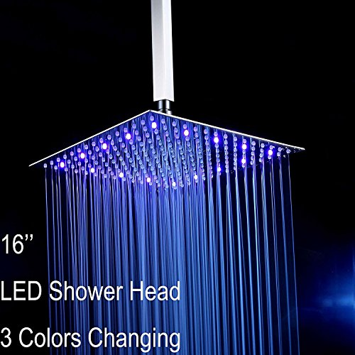 Fyeer Ultra thin Showerhead Stainless Temperature