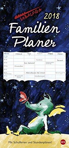 Tabaluga Familienplaner - Kalender 2018