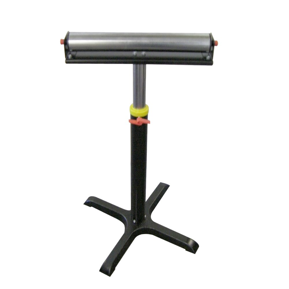 Oasis Machinery T2273 Heavy-Duty Adjustable Single Roller Stand