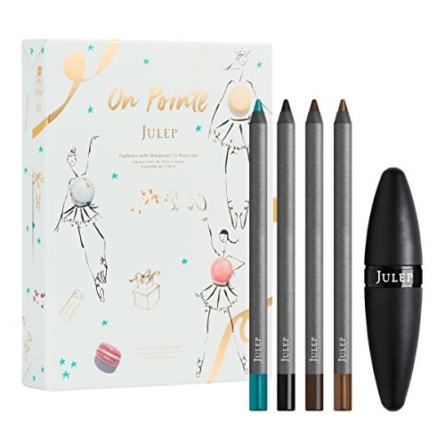 Julep On Pointe Eyeliners With Sharpener 5 Piece Set