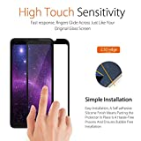 Screen Protector For Google Pixel 2 XL, [Tempered Glass] [Full Coverage] [9H Hardness] [Case Friendly] [Bubble-Free] Screen Protector Guard for Pixel 2 XL 2017 Black