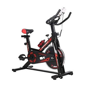 Lcyy-Bike Entrenadores De Bicicleta Resistencia Magnética 6 Kg Volante Cardio Workout con Pantalla Multifuncional