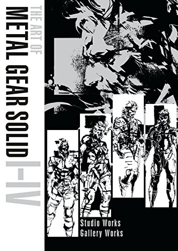 The Art of Metal Gear Solid I-IV cover