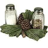 River's Edge Pinecone Salt and Pepper Glass offers