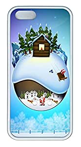 iPhone 5s Case, iPhone 5s Cases - Christmas in December Custom Design iPhone 5s Case Cover - Polycarbonate