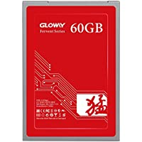 Gloway SSD Fervent SATA 3 2.5 (7mm height) Solid State Drive compatible with Windows,Intel AMD Desktop Motherboard, Laptop (60 GB)