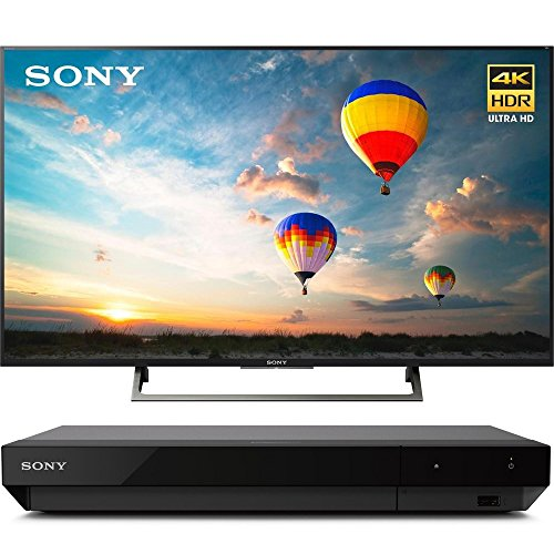 "Sony XBR43X800E 43"" 16:9 4K HDR Edge Lit LED UHD LCD TV with"