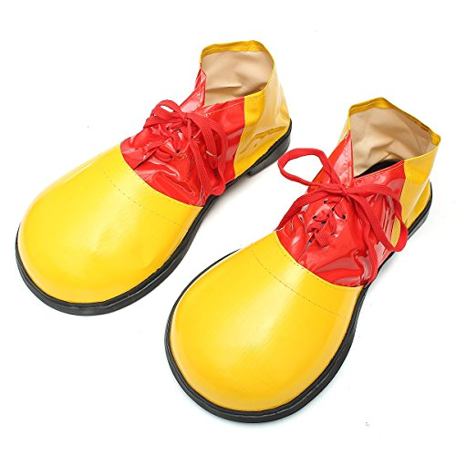 Katoot@ Adult 1 Pair Halloween Clown Shoes Boots Dress Decoration Shoes Accessories Unisex Comedy Fancy Costume Party Events Supplies -