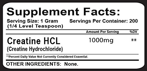 Muscle Feast Creatine HCl (200 grams)