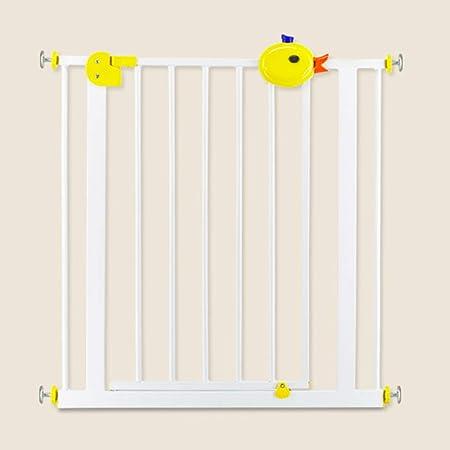 FSGD Reja Protectora para Puertas y Escaleras, Apta para 75 – 194 cm, Altura 77 cm, Sin Taladrar, Montaje Sencillo, Seguridad para bebés y Perros,95~104cm: Amazon.es: Hogar