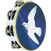 Remo Praise Tambourine - Religious Dove, 10
