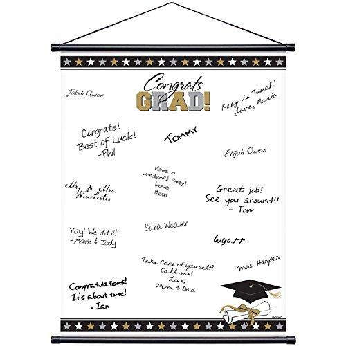 Congrats Grad Signature Graduation Scroll by Amscan