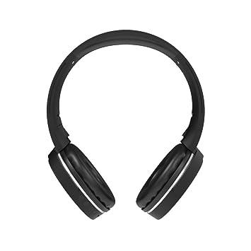 r-music- Musix - Auricular con micrófono inalámbrico - Autonomía 15H - Alcance inalámbrico 10 m- Micro intégré- Sonido Riche y Clair- audífono rotativa y ...