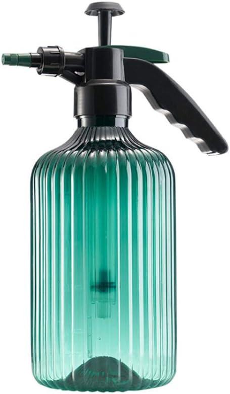 Hylee Garden Watering Can, Plant Mister, Pump Sprayer, Hand Pressure Sprayer, 2 Liters Pump Spray Bottle for Plants, Garden, Cleaning Work (Green)