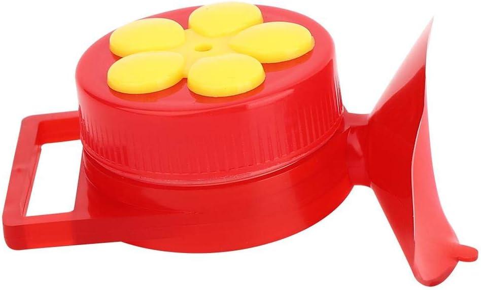 Alimentador de colibr/í 2 Piezas Mini alimentador de p/ájaros de Mano Alimentador de pl/ástico con Percha Cepillo de Limpieza Color Brillante Dispositivo de alimentaci/ón de p/ájaros al Aire Libre