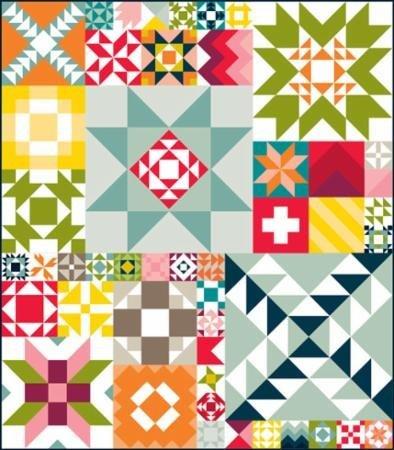 Modern Building Blocks 2014 Pattern By Moda Fabric by moda   B00P9HMQ1U