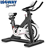 Leeway Spin Bike  Exercise Fitness Spinning Bike  Spine Fitness Equipment  Exercise Cycle for Home Gym  Indoor Cycle  Trainer Fitness Bike  Gym Bike (Imported)-103
