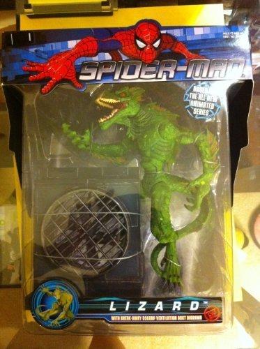 Spiderman Lizard w/breakawy oscorp ventilation duct diorama -