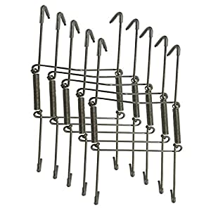Xinlinke 5Pcs 6-Inch Small Invisible Plate Wire Hanger Wall Holders with Protective Rubber Cover for 5\  to 7\  Decorative Tray Silver Color  sc 1 st  Amazon.com & Amazon.com: Xinlinke 5Pcs 6-Inch Small Invisible Plate Wire Hanger ...