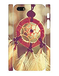 Quote Series Dustproof Hipster Dream Catcher Pattern Phone Cover Skin for Iphone 5 5S Case