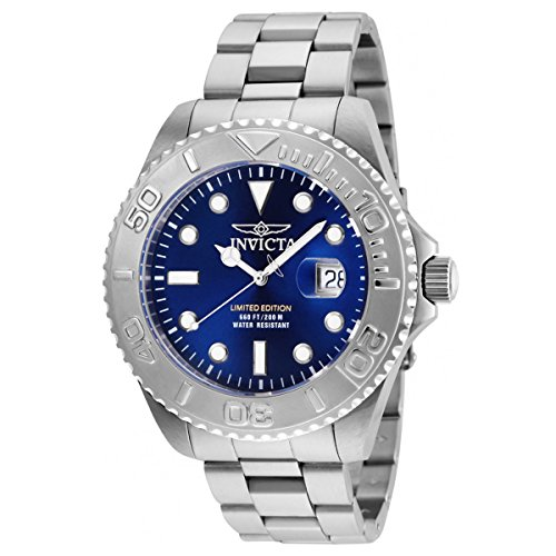 Invicta Men's 'Pro Diver' Quartz Stainless Steel Diving Watch, Color:Silver-Toned (Model: 24623) by Invicta