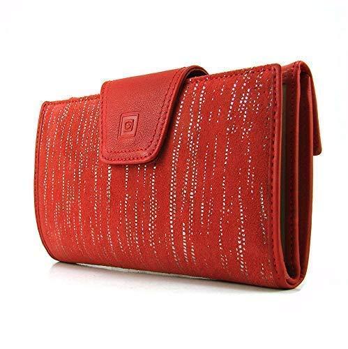 Cartera para mujer, hecho a mano en España, marca casanova, hecha en piel de vacuno, Ref. 23918 Rojo