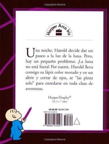 Harold y El Lápiz Color Morado Coleccion Harper Arco Iris: Amazon.es ...