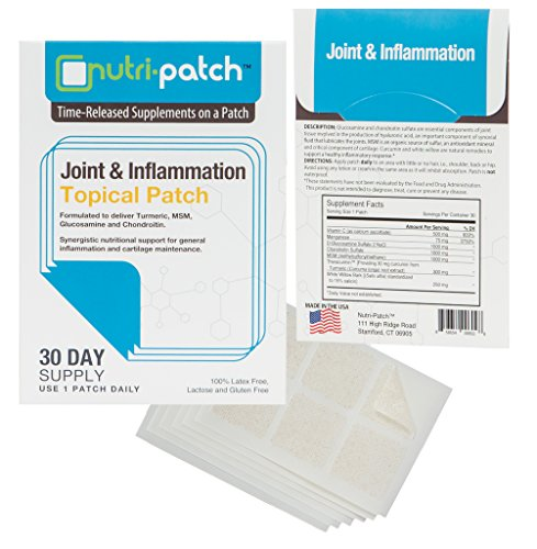 Joint & Inflammation Topical Nutrient Skin Patch from NUTRI-PATCH®