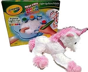 Amazon.com: Be Merry Unicorn Plush and Crayola 2-Pc Bundle ...