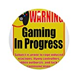 CafePress - Gaming In Progress Ornament (Round) - Round Holiday Christmas Ornament