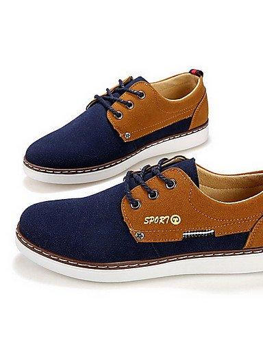 Ei&iLI Zapatos de Hombre Oxfords Casual Semicuero Negro / Marrón / Amarillo / Rojo , gray-us9.5 / eu42 / uk8.5 / cn43 , gray-us9.5 / eu42 / uk8.5 / cn43 gray-us9.5 / eu42 / uk8.5 / cn43