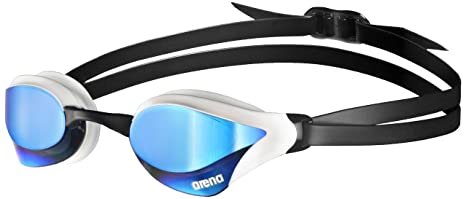 c662d1084c Amazon.com   arena Cobra Core Mirror Swim Goggles Blue