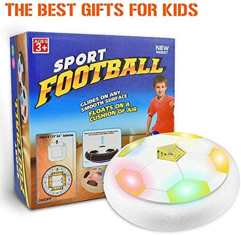 KITY Juguetes Niños 3-15 Años,Air Football Juguete Balón de Fútbol ...