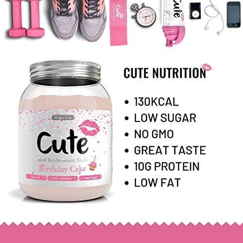 Cute Nutrition Meal Ersatz-Shakes für Gewichtsverlustkontrolle und Energie