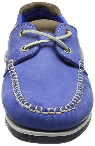 Chatham En Bretaña Churchill Marine taupe Azul Gran blue Zapato De Blue Hecho Hombres Cubierta Cuero Encaje taupe UCxUr05wnq