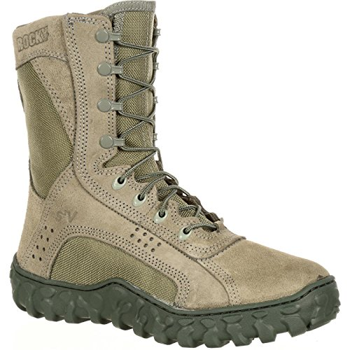 ROCKY Men's S2V-M, Sage, 8 W US (Best Military Boots For Rucking)