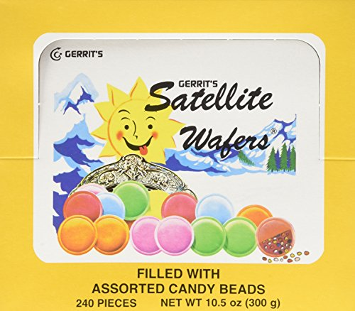 Satellite Wafers Flying Saucers Candy Old Fashioned 240 ()