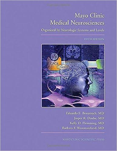 Mayo Clinic Medical Neuroscience: Organized by Neurologic Systems