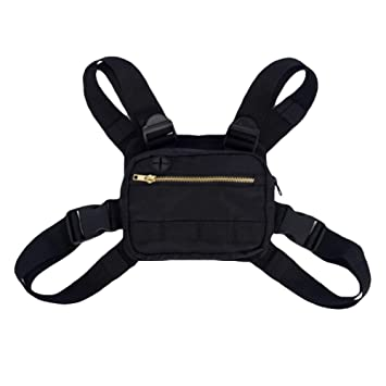 c3dee7a8d Blaward Men Rigger Fashion Chest Rig Bag Tactical Vest Style Adjustable  Crossbody Functional Bags