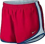 NIKE Womens Plus Tempo Running Fitness Shorts Purple 1X
