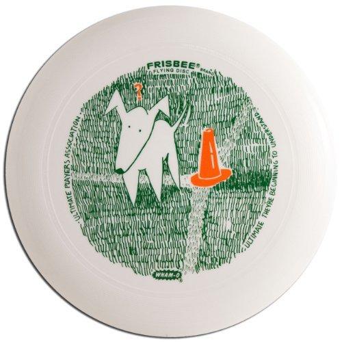 Wham-O UMax Frisbee Disc - Quizzical Dog USA Ultimate Design