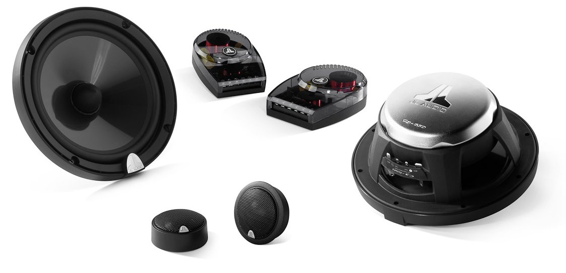 JL Audio C3-650 6-3/4'' 2-way Convertible Component/Coaxial Speakers System Evolution C3 Series