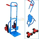 US Shipping 200kg Stair Climber Sack Truck Transport Heavy Duty Climbing Flat Bed Trolley