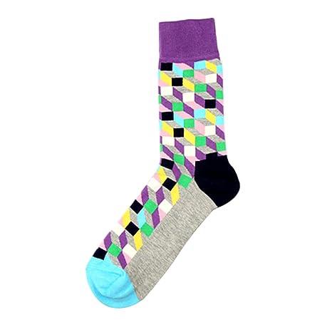 TININNA 1 Par Calcetines Alta de celosía clásico hombre medias de compresión Long Socks baja Socquettes