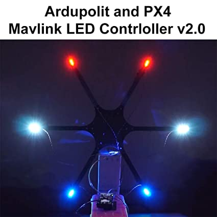 Pixhawk Mavlink External LED Controller Lighting for APM Pixhawk2 Ardupilot  PX4 RGB Navigation Quadcopter Hexcopter Drone