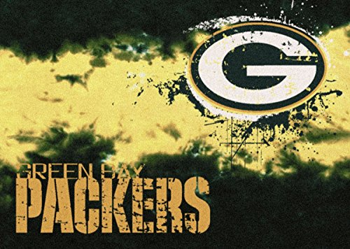 Green Bay Packers NFL Team Fade Area Rug by Milliken, 3'10