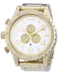 Nixon 51-30 Chrono Watch - Champagne Gold/Silver One Size [Watch]
