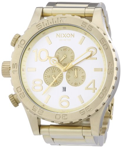 Nixon A0831219-00 - Wristwatch unisex, Stainless Steel inox, Color: oro