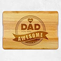 Personalized Cutting Board, Father Day Gift, Gift for Dad, Boyfriend Gift, Custom Boyfriend Gift, Gift for Him, Men gift, Wooden Cutting Board, Chopping board